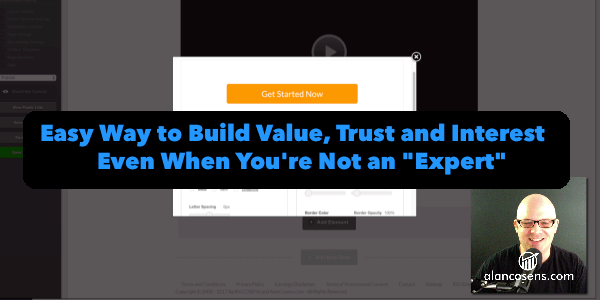 Alan Cosens - How to Deliver Value Even if You're Not an Expert